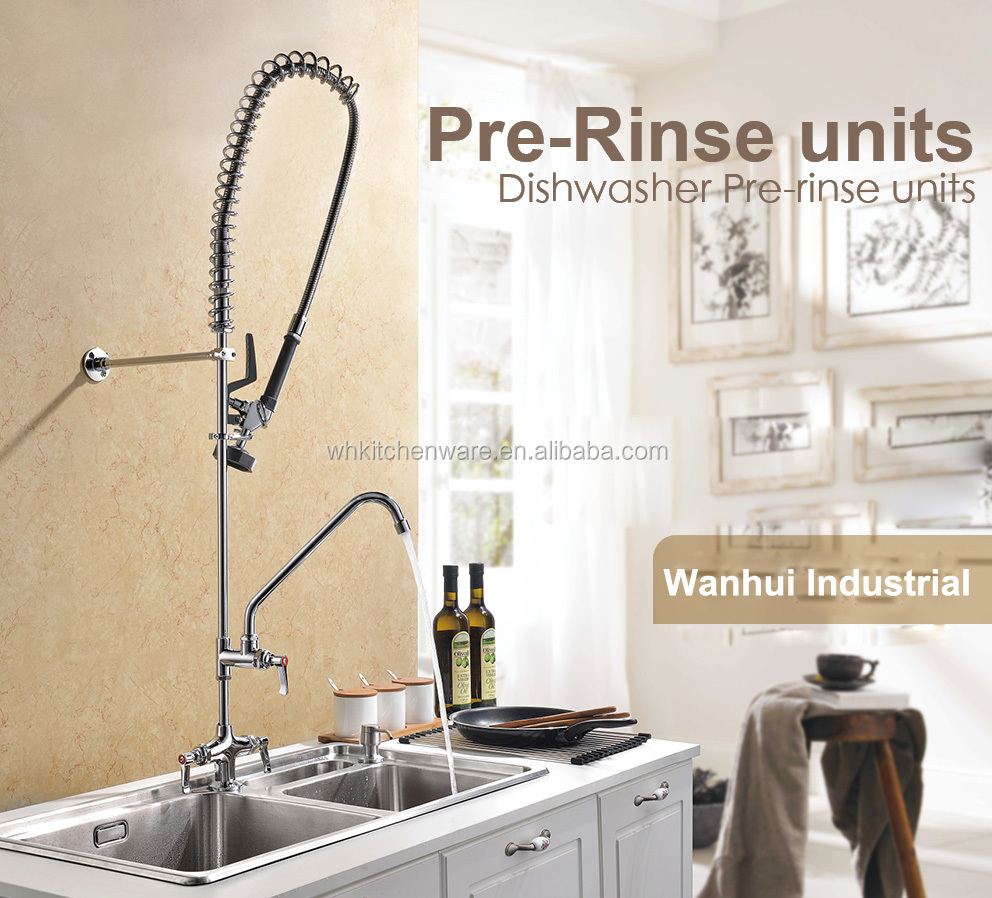 New Commercial Kitchen Pre-Rinse Faucet And Sink Faucet, LEAD FREE COMPLY TO NSF/ANSI 61
