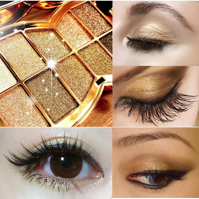 Eye Shadow Glitter Eyeshadow 10 Colors Diamond Bright Makeup Palette Professional natural Cosmetic Masquerade