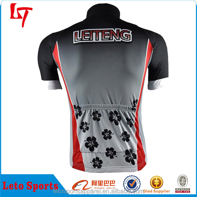 team women cycling clothing OEM service women rose sublimation printing cycling jerseys New design women cycling jerseys