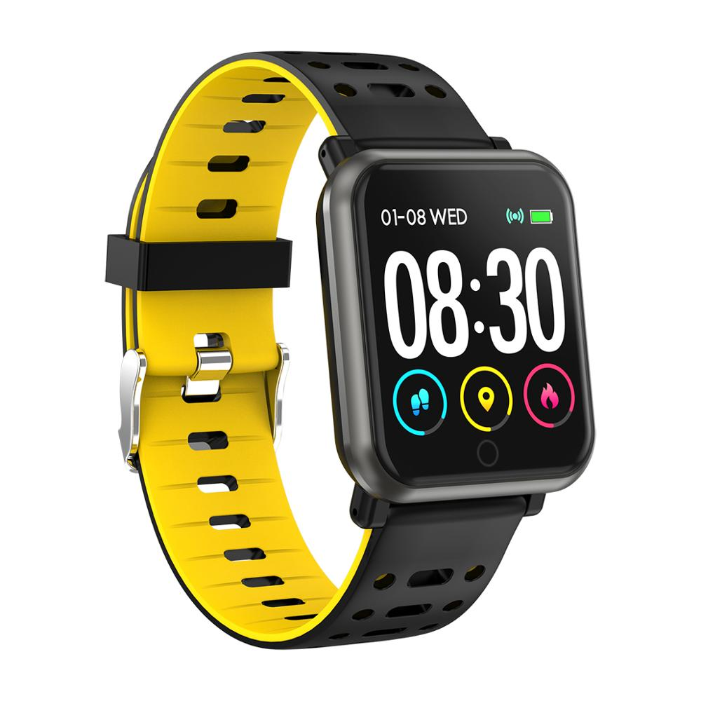 New color 1.3 inches screen sports tracker smart health wristband fashion fitness bracelet watch