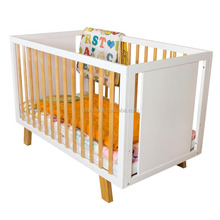 Cubby Plan LMBC-071 New Design High Quality Baby Bed Wooden Baby Cot