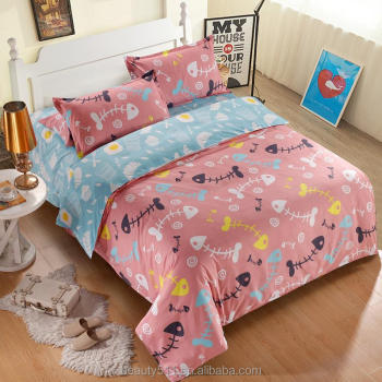 Arabic cheap bedding sheets/bed sheets 3d/flat bed sheets BS369