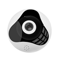 Mini 360 Degree Panoramic Wireless Wifi 960P IP Fisheye Camera With Two Way Audio