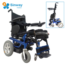 Stand up electric power wheelchair with motor