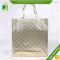 Silk printing cheap eco non woven shopping tot bag