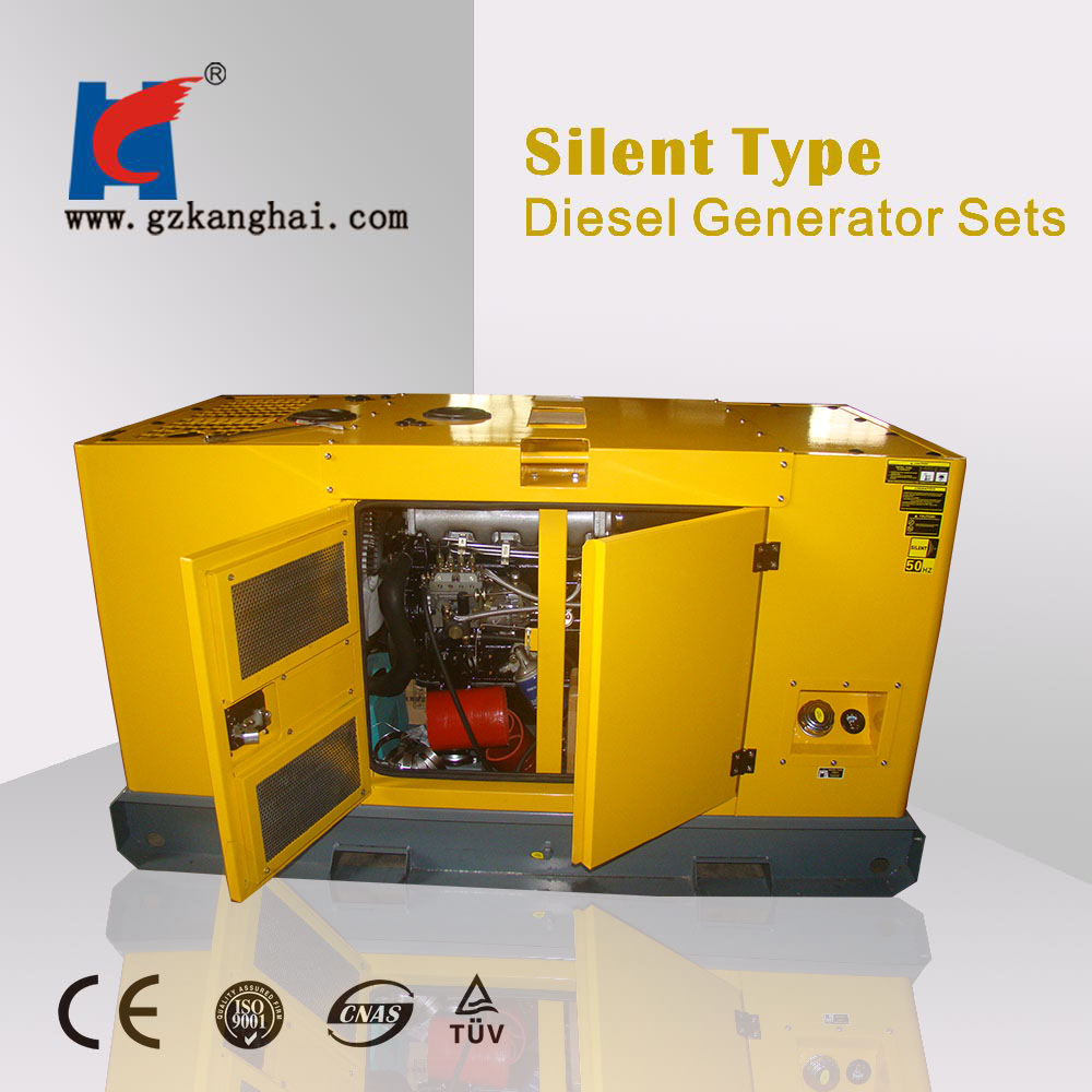 used diesel generators 20kw small portable marine diesel engine set