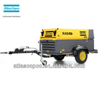 XAS137(XAS300) 269cfm 7bar Atlas Copco Portable diesel engine driven air compressor