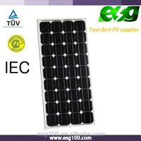 Solar street light supply Mono cells 65W solar panel