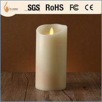 decorations flameless led moving wick candle