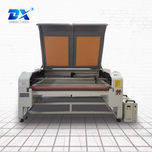 Cheap price single head auto feeding fabric laser cutter on sale