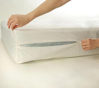 Box Spring Zippered Bed bug mattress cover Encasement Protector