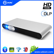 Outdoor Pocket Home Theater Led Smart Bluetooth Android Wireless Mini Projector with 4K Full Hd