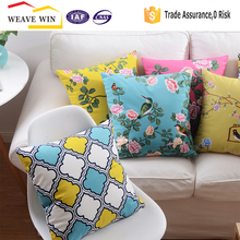 wholesale custom cotton cushion cover modern styles of pillow cover