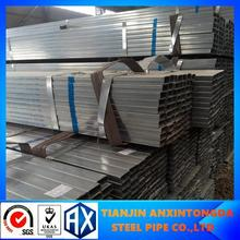 pre galvanized steel pipe hollow section can be customized!hot dip galvanized square steel tubes