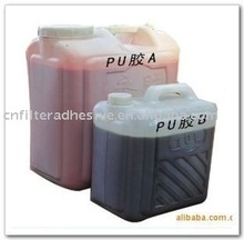 PU+MDI mixed adhesive for air filter