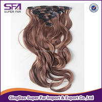 mongolian kinky curly clip in hair extension