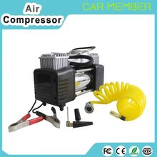 Low profile tire inflation 2 in 1 digital air compressor 12v air tire pump