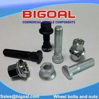 NEW ARRIVAL wheel bolt and nut and set with High quality for VOLVO,MB,SCANIA trucks and trailers G10.9 and G12.9