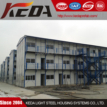 Low Cost Porta Cabin Prefabricated House for Worker Dormitory House / Labor Camp Accommodation