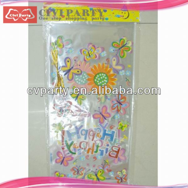 candy stripe plastic packaging bag party candy pp bags wholesale