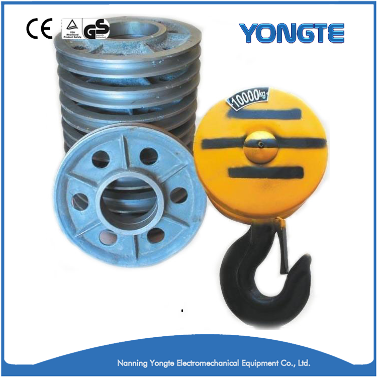 Eletric Lifting Forged Hardware Hoist Hook Under Ring Shape