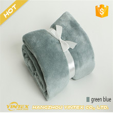 Multi-size throw blanket/fleece blanket on the bed,soft autumn/spring upgraded flannel for sofa,home green blanket Anti Static