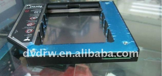 laptop Universal SATA(HDD) 2nd optical drive HDD caddy