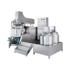 Cosmetic Cream High Shear Emulsifier Homogenizer Mixer