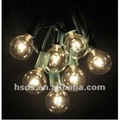 25ct G50 Globe Patio String light