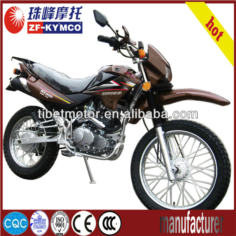 powerful dirt bike motorbike for adults (ZF200GY)