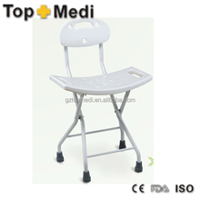 Topmedi TBB790B Folding Bathtub Bench Bath Tub Seat Stool Plastic Shower Chair bath cabin bench
