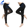 Lotsyle Mesh Panel Sexy Gym Fitness Pants Athletic Leggings for Women