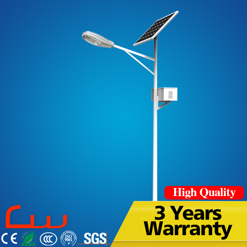 China manufacturers sale LED solar panel street light cost 30W