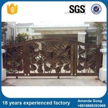 Save Operation Costs Ornamental Iron Driveway Gates For Sale