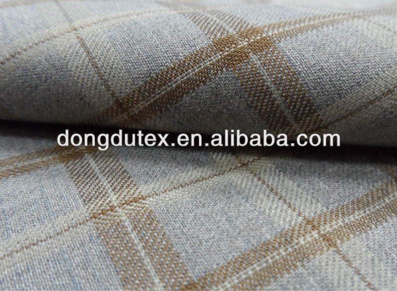 2015 Fashion England design grid TR suiting fabric