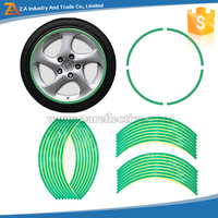 Car/Motorcycle /Bicycle Using Logo Printing Available Reflective sticker for wheel rim