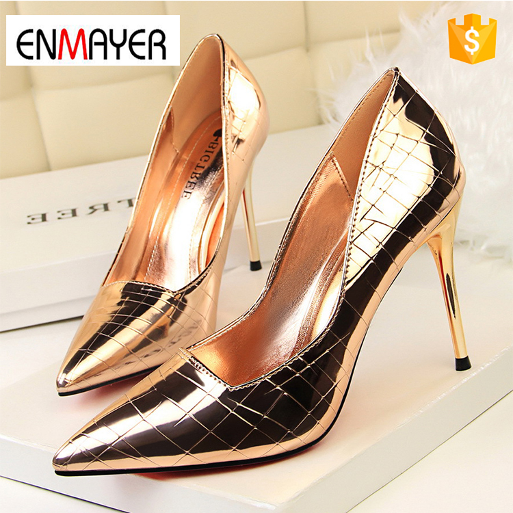 high heel shoe, Ladies Fashion Sexy Evening high heels Shoes womens shoes spring 2016 lady heel