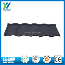 Black chinese color stone coated roofing tile/colour roofing sheets