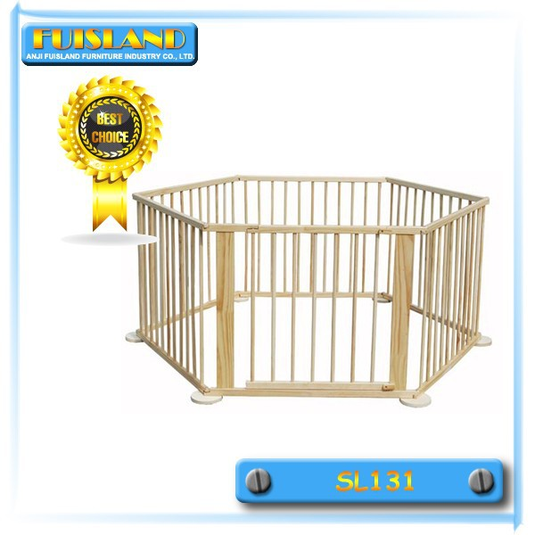 6 pages wooden playpen baby furniture natural baby playpen
