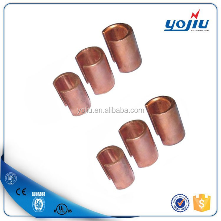 Popular Copper C crimp connector/ C cable clamp
