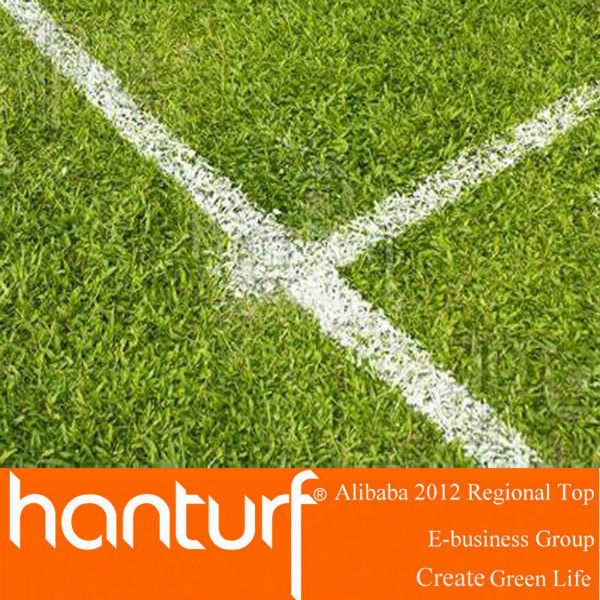 No Infill Artificial Grass For Football Field & Soccer Pitch
