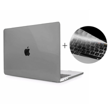 HAT PRINCE Clear Hard Case with US Version TPU Keyboard Film for Macbook Pro 13 Inch 2016