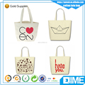 Wholesale Factory Price Canvas Bag Custom Logo Printed Canvas Tote Bag