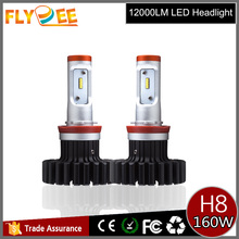 12v 24v G6S 80W 6000 lumen super bright auto lights Pphillipss Z-ES led bulb G6 X623 H8 H9 H11 atv led headlights