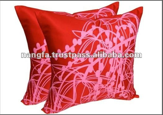 Thailand Lastest Design Silk Screen Cushions Cover