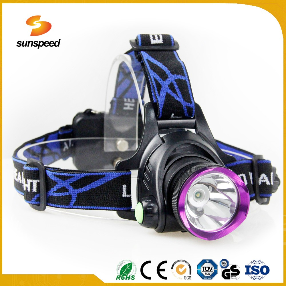 Best high power cree led headlamp rechargeable with 10w cree T6 led