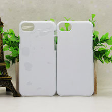 For iphone 8 hard plastic heat transfer sublimation printing cell phone case