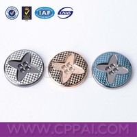 4 holes sewing alloy metal buttons from professional buttons factory