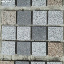 Mixed Colors Stone Paver Driveway Paving Stone Granite Tiles