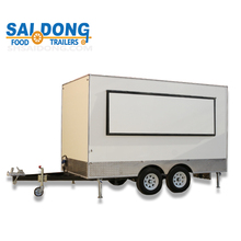 shanghai saidong factory OEM service custom design mobile food truck for sale